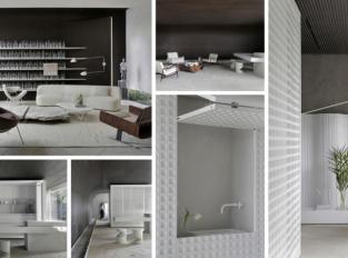 Ateliér Nildo José navrhl byt, který ovládají čisté linie