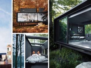 Skandinávský hotel Vipp nabízí designové pokoje ve městě i přírodě