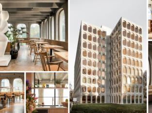 V modernistické budově v Bruselu vznikly kanceláře firmy Fosbury & Sons