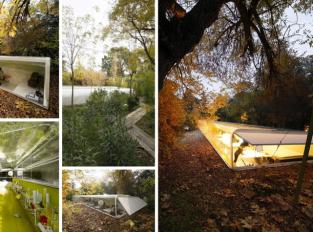 Kanceláře v lese. Španělští architekti pracují v obklopení přírody