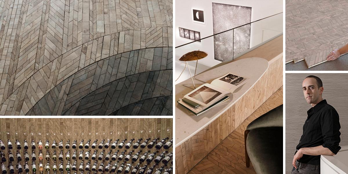 Revoluční dřevěné podlahy od Oscar Ono oživují tradiční techniky zpracování