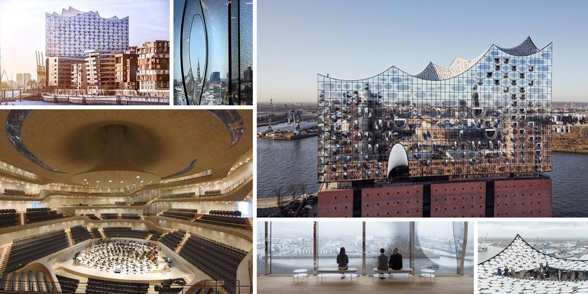 Elbphilharmonie narušuje strohost a horizontalitu Hamburku