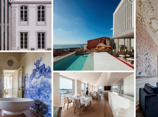 Hotel Palácio de Santa Catarina sjednocuje různorodé prostory