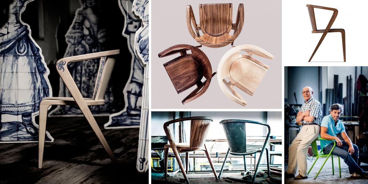 Ikonická židle Roots: z lisabonských zahrádek až do prezidentské kanceláře