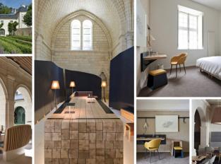 Z bývalého kláštera vznikl moderní hotel Abbaye de Fontevraud