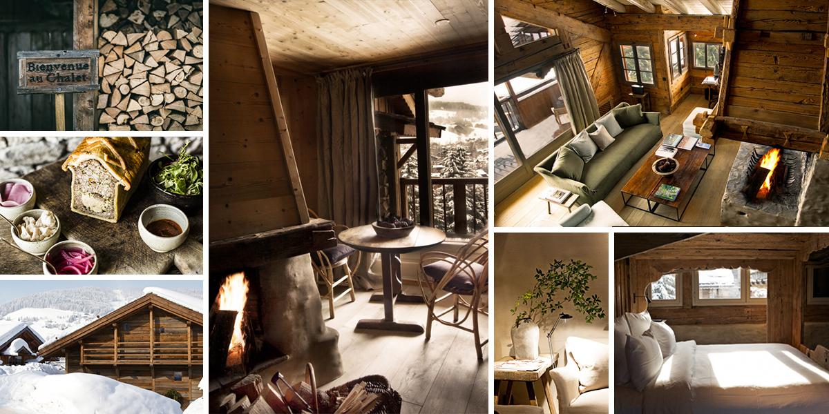 Vysokohorský hotel Le Chalet Zannier nabízí hřejivou náruč domova