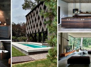 Dům v zelené oáze. Moderní bydlení chráněné před živly