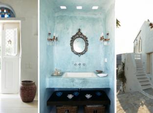 Řecký ostrov Tinos ukrývá dům interiérové designérky