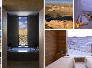 Rezort Amangiri: ubytování v dechberoucí krajině jižního Utahu