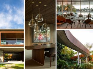 Canal House: Dům plný kontrastů s vlastní lagunou a tropickou oázou