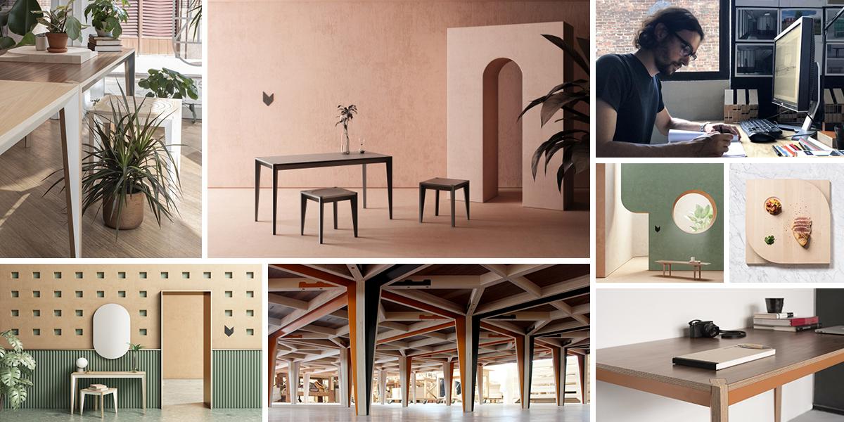 Miduny, to je nábytek s italským vkusem a vynalézavostí Brooklynu