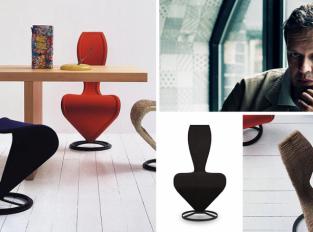 """S-Chair: židle, která vznikla z """"čmáranice"""" kuřete"""