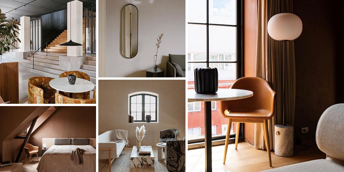 Ubytování plné designu. Kodaňský hotel Audo slouží i jako showroom