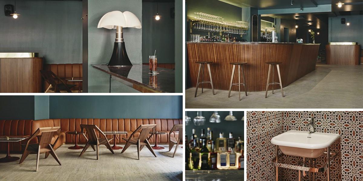 Jackie Bar v Helsinkách se proměnil na milánský bar ze 70. let