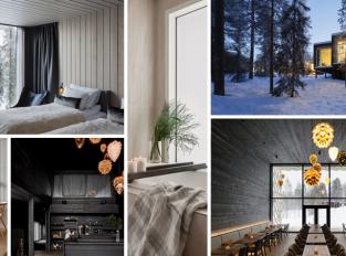Stromový hotel pro milovníky přírody a arktické finské mystiky