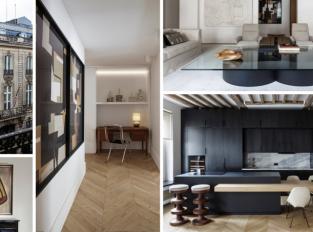 Pařížský byt pro rodinný život i přátelská setkání