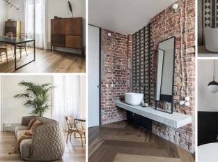 Přísná strohost interiéru nechává vyniknout jeho bohaté historii