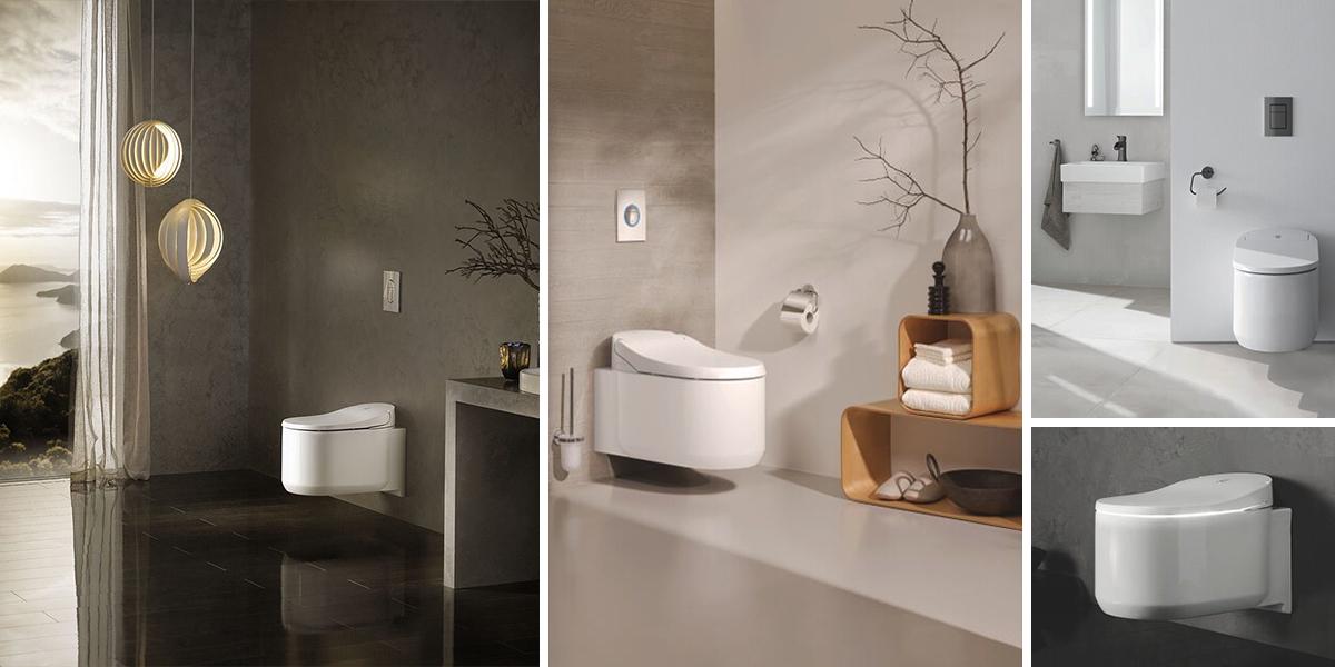 Sprchová toaleta GROHE Sensia Arena: pomocník do moderní domácnosti