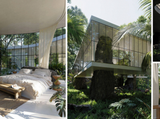 Casa Atibaia: éterický projekt na počest brazilského modernismu