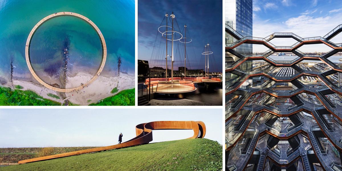 Jedinečná veřejná prostranství: 10 míst, která musíte vidět na vlastní oči