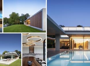 Luxusní rezidence na břehu řeky Leie v Belgii vás okouzlí