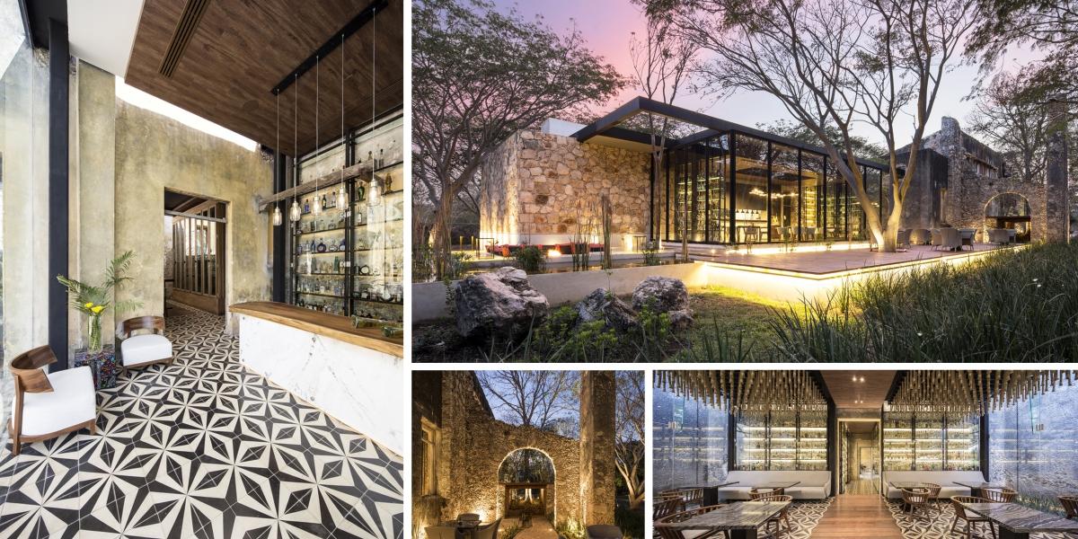 Bývalá mexická továrna se proměnila v restauraci s duchem minulosti