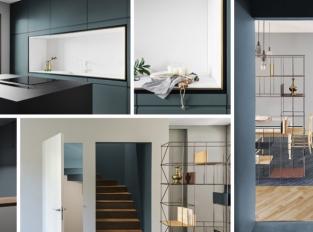 Dům v Miláně nabízí spoustu úložného prostoru i nápadité skrýše