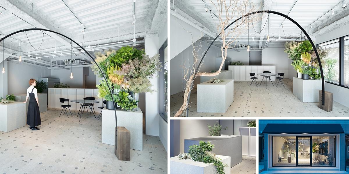 Japonské květinářství Gigi-Verde ožilo neobvyklými dekoracemi