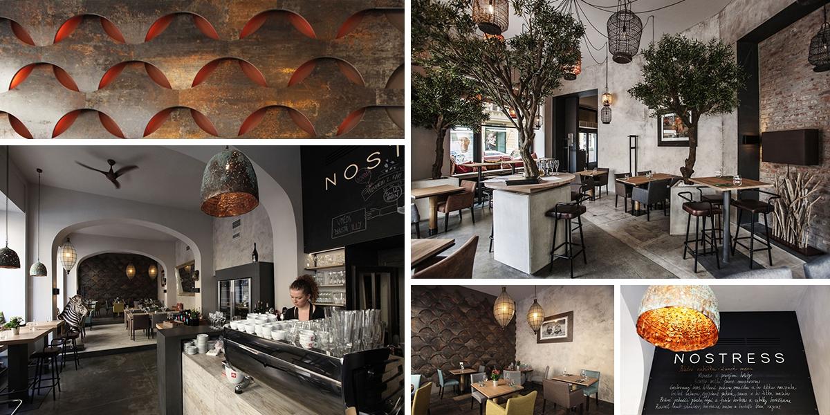 Restaurace NOSTRESS – oáza klidu v centru města