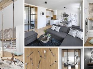 Studio Flat White vytvořilo útulnou rekonstrukci bytu v severském stylu