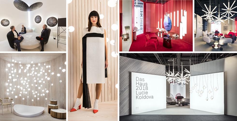 Designérka Lucie Koldová slaví na IMM veletrhu v Kolíně úspěch
