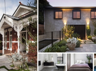 Dům v Melbourne zdobí viktoriánské prvky i moderní design