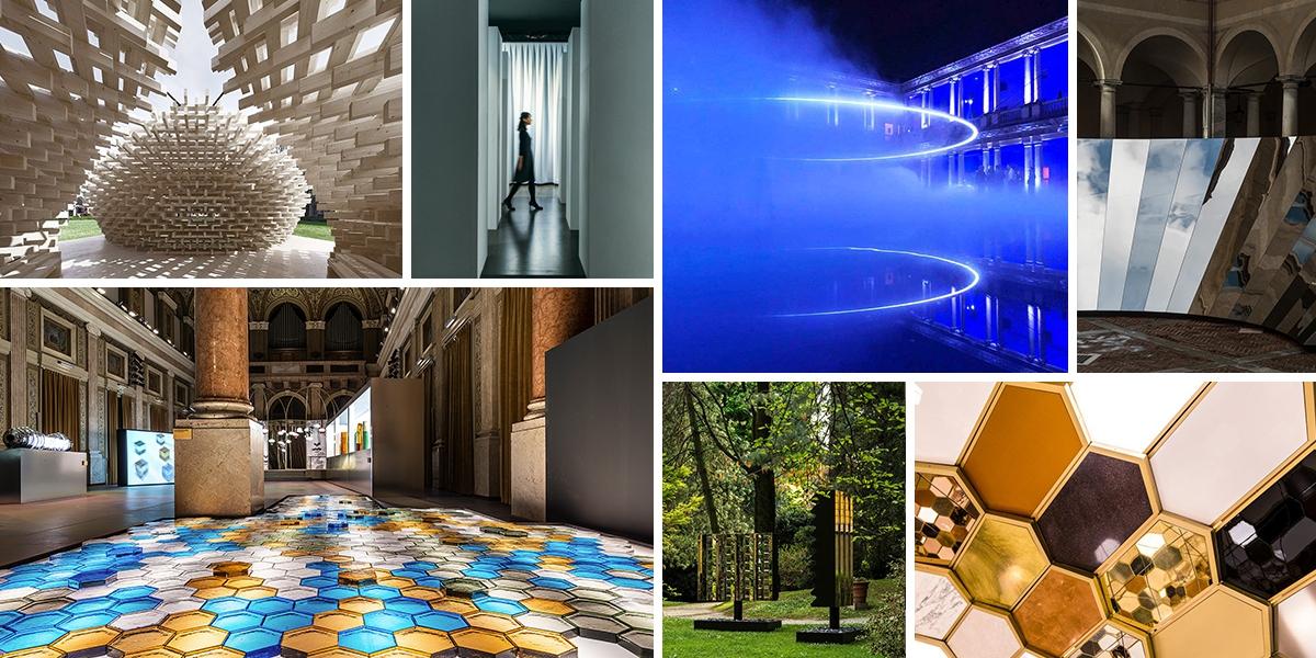 Milánský Design Week oživily umělecké instalace