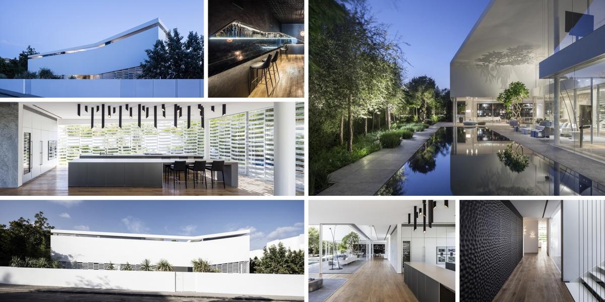Dům v Tel Avivu: kouzlo přírody, světla a stínů