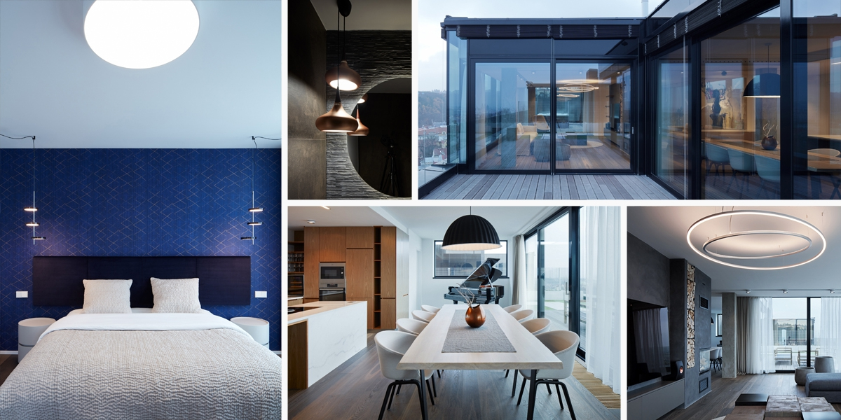 Dům na domě: to je penthouse s okouzlujícím výhledem na Prahu