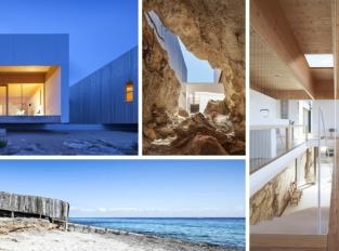 Místo jeskyně moderní dům. Ostrov Formentera a jeho divy