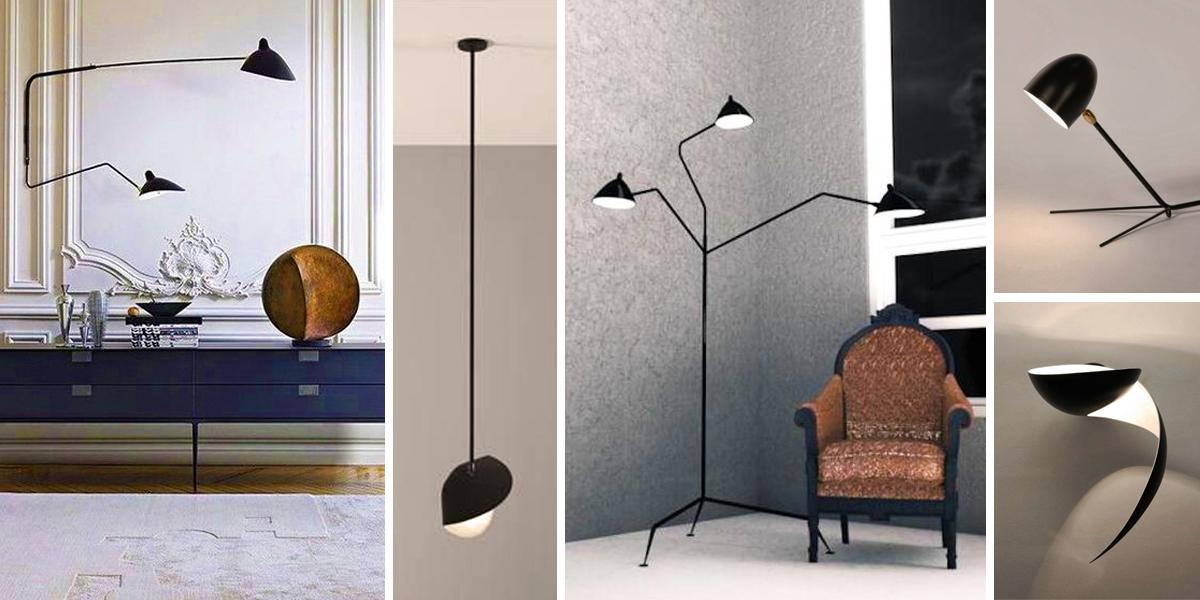 Serge Mouille: ikona francouzského designu a nadčasových svítidel