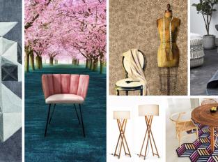 Látky a tkaniny probouzí staré řemeslo v moderním interiéru