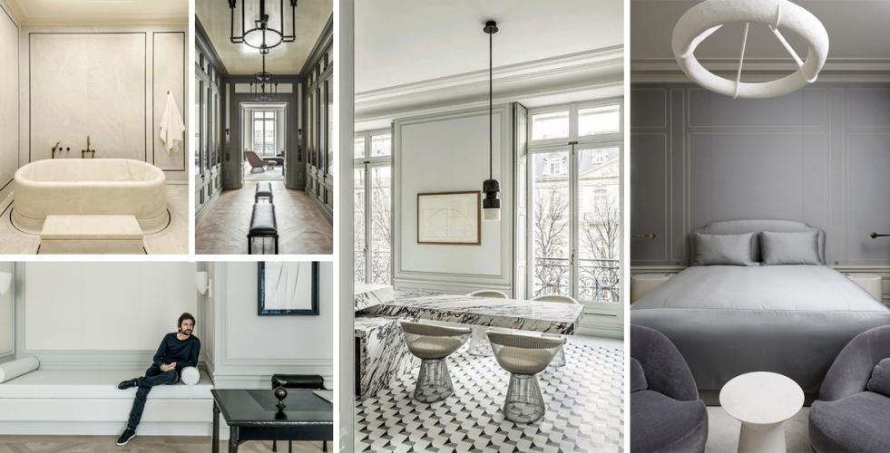 Pařížský byt z 19. století se proměnil v elegantní prostor plný umění