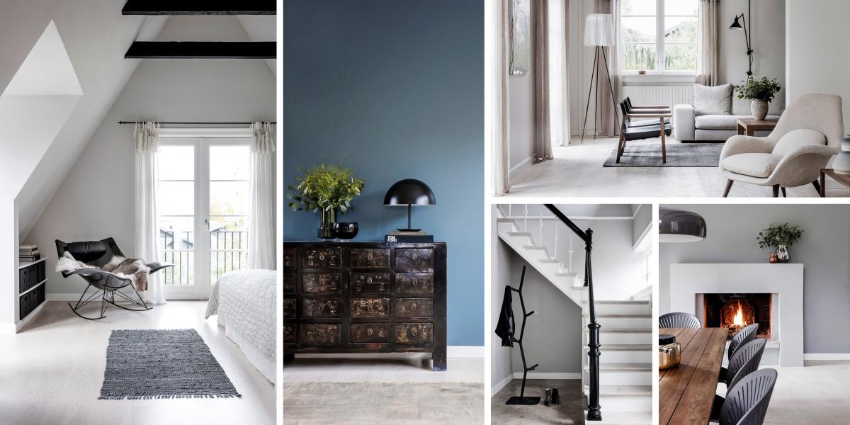 Rodinný dům v Kodani – dokonalý úkryt ve skandinávském stylu