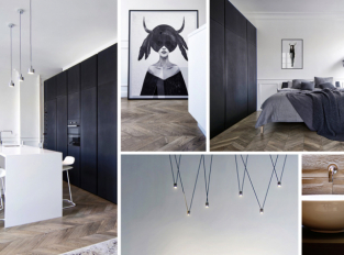 Francouzský neoklasicismus se špetkou Skandinávie: to je apartmán AM