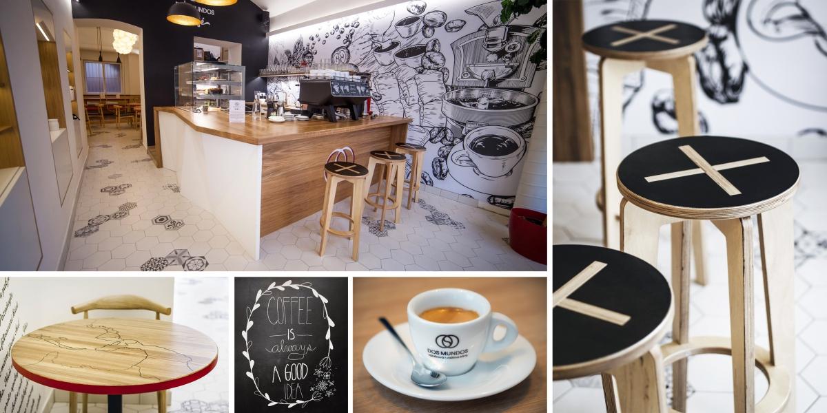 Kavárna Dos Mundos na Letné: designový zážitek pro milovníky kávy a zábavy