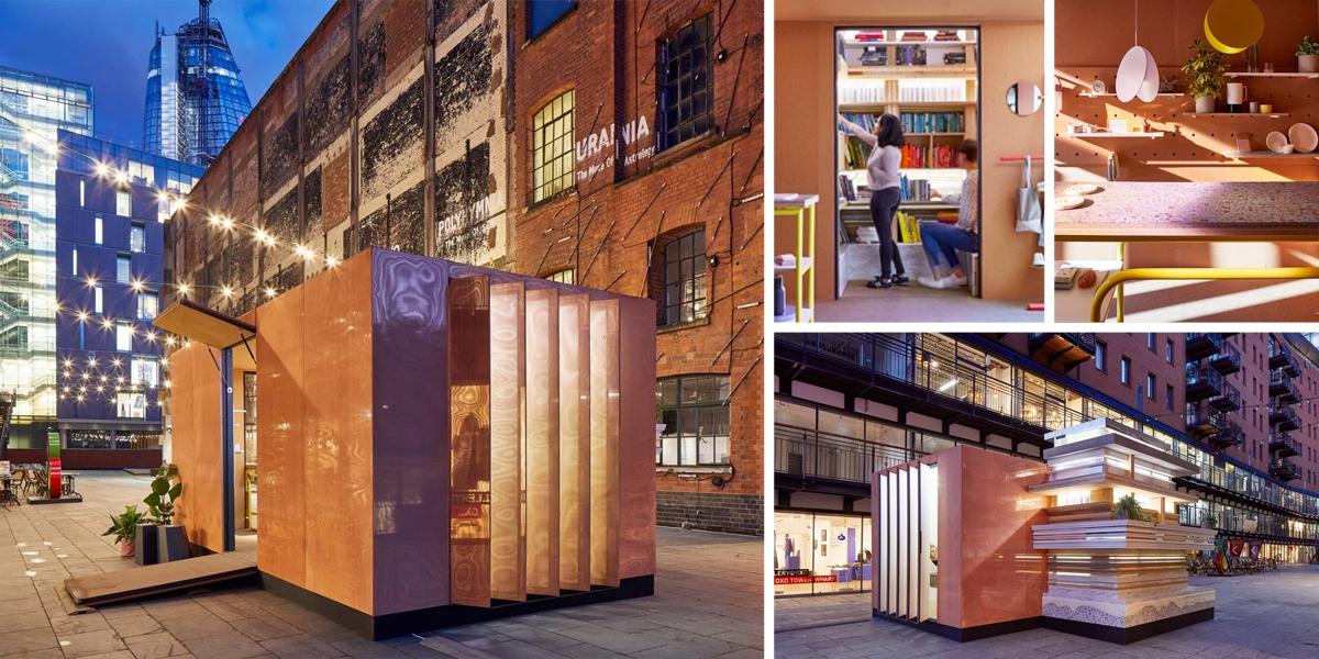 MINI Living Londýn: mikro bydlení pro současné nomády