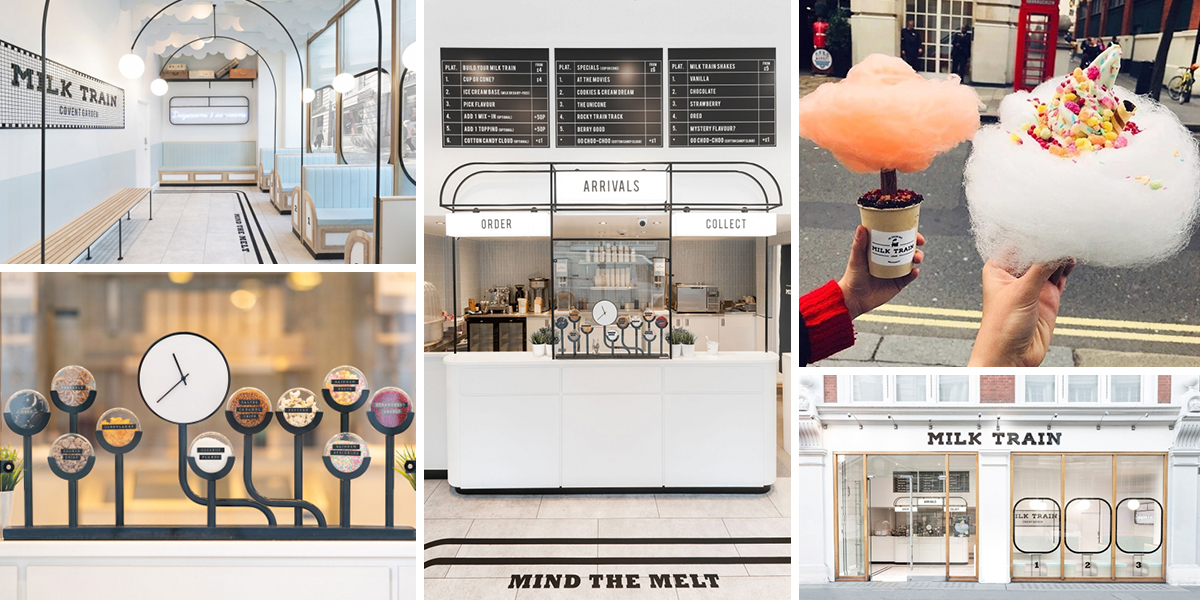 Milk Train: Netradiční zmrzlina v netradičním prostředí