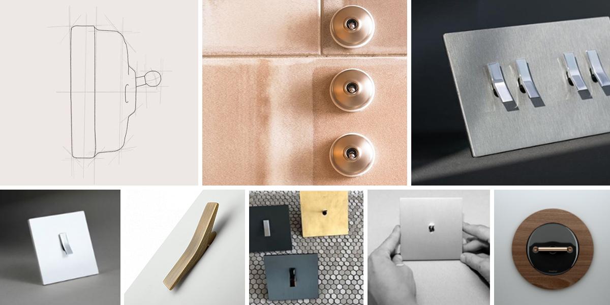 Budiž světlo, porcelánové a minimalistické vypínače Font & Fontini