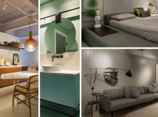 Dům Arches a moderní bydlení ve stylu Le Corbusiera
