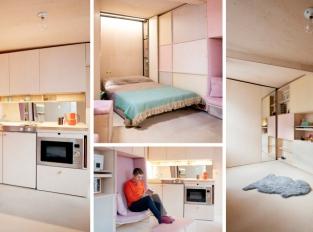 Nejmenší dům v severním Londýně má pouhých 13m2