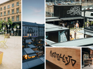 Manifesto: Kontejnerový market v centru Prahy