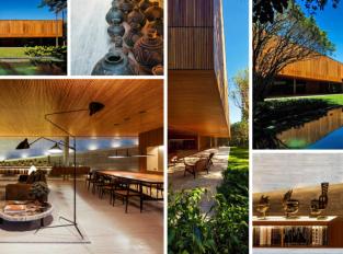 Brazilský dům ožil africkým uměním