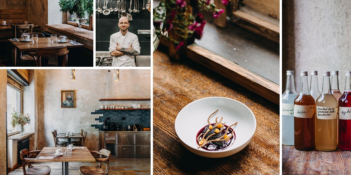 Interiér od šéfkuchaře. Restaurace Bockem spojuje krásu jídla a historie